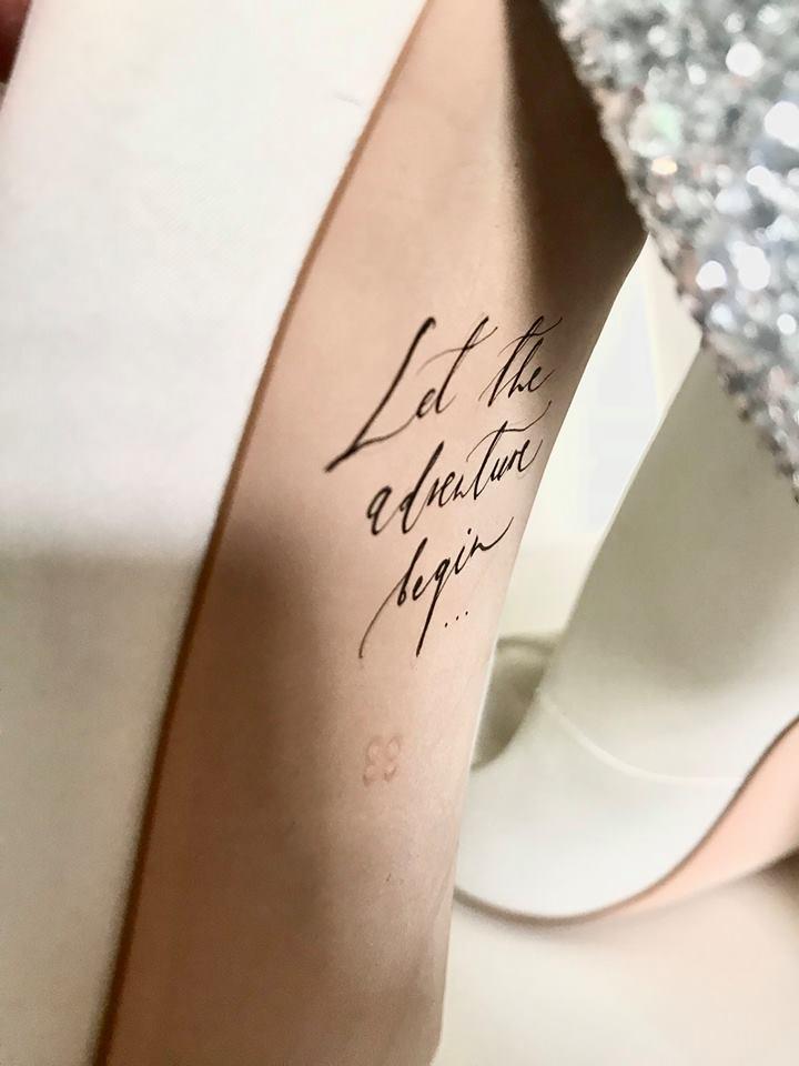 kaligrafia na butach