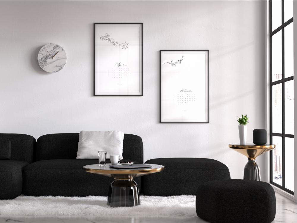 Kalendarz 2019 z kaligrafią
