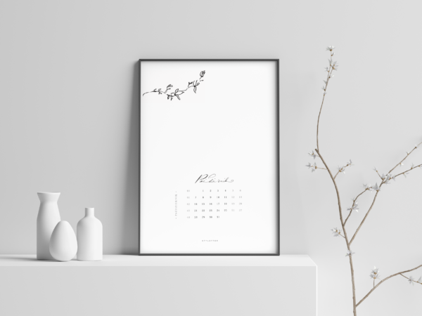 Kalendarz do wydruku 2019