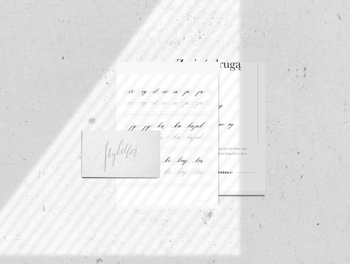 Łączenie liter